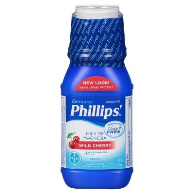 Phillips' Milk of Magnesia Stimulant Free - Cherry - 12oz