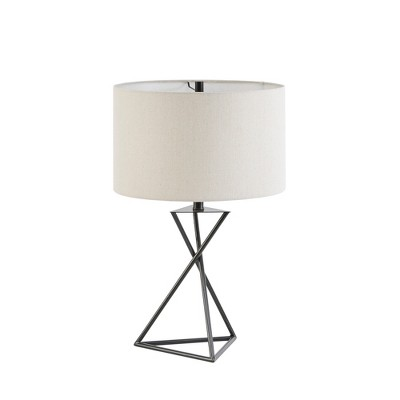 "16"" x 16"" Alma Table Lamp (Includes Energy Efficient Light Bulb)Black"