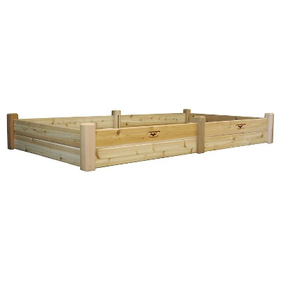 "97"" x 50"" x 13"" Raised Rectangular Garden Bed - Gronomics"