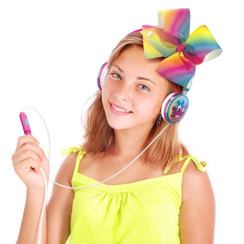 jojo siwa kids wired headphones target
