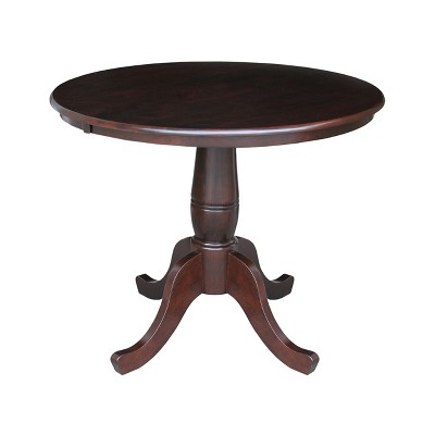 """36"""" Round Top Pedestal Table - International Concepts"""
