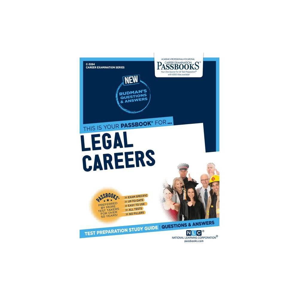 Legal Careers Volume 3284 Career Examination Paperback