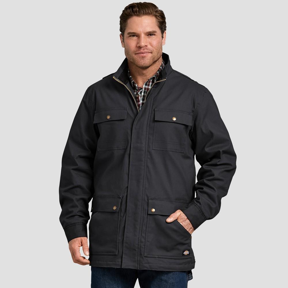 Dickies Men's Long Sleeve Rain Coats - Black M