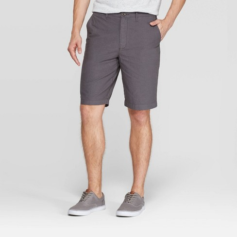 Men's Slim Fit Shorts - Goodfellow & Co™ Gray - image 1 of 3