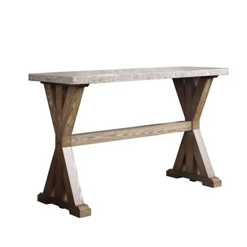 Wellingham Sofa Table Natural - ioHOMES - image 1 of 3