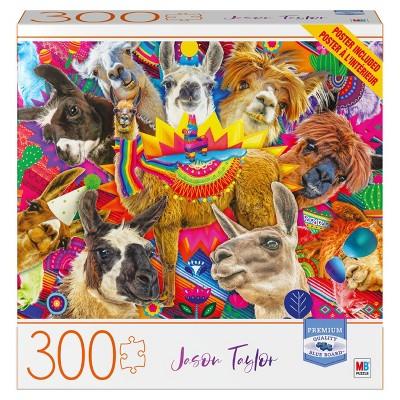 Milton Bradley Blue Board: Drama Llama Jigsaw Puzzle - 300pc