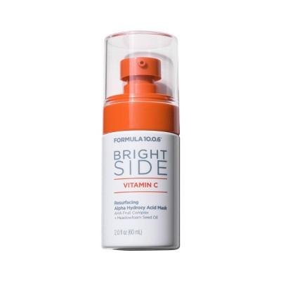 Formula 10.0.6 Bright Side Vitamin C Resurfacing AHA Mask - 2 fl oz