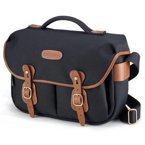 Burgundy Canvas//Chocolate Leather Billingham S2 Shoulder Bag