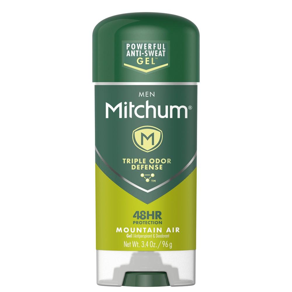 Mitchum Men's Antiperspirant & Deodorant Gel Mountain Air - 3.4oz, Clear