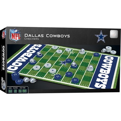 MasterPieces NFL Dallas Cowboys Checkers Board Game