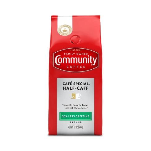 Community Coffee Half-Caff Medium Roast Ground Coffee - 12oz - image 1 of 4