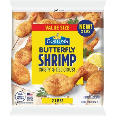 Gorton's Crispy Butterfly Shrimp Club Pack - Frozen - 32oz