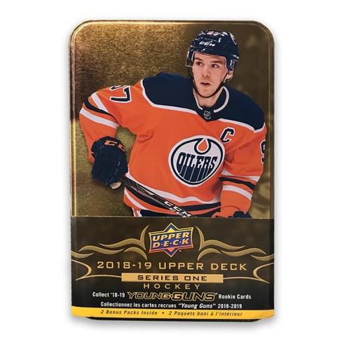 2018 19 Upper Deck Nhl Series One Hockey Trading Card Tin