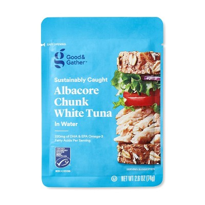 Albacore Chunk White Tuna in Water - 2.6oz - Good & Gather™