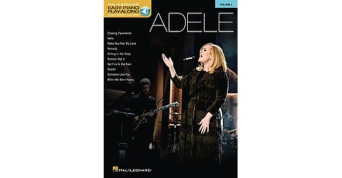 Adele : Includes Downloadable Audio (Paperback) - image 1 of 1