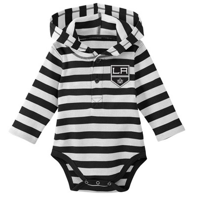 Los Angeles Kings Boys' Newborn/Infant Sleeper Bodysuit - 6-9M