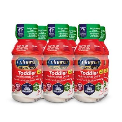 Enfagrow Toddler Next Step Vanilla RTD Bottles - 6ct/8 fl oz Each