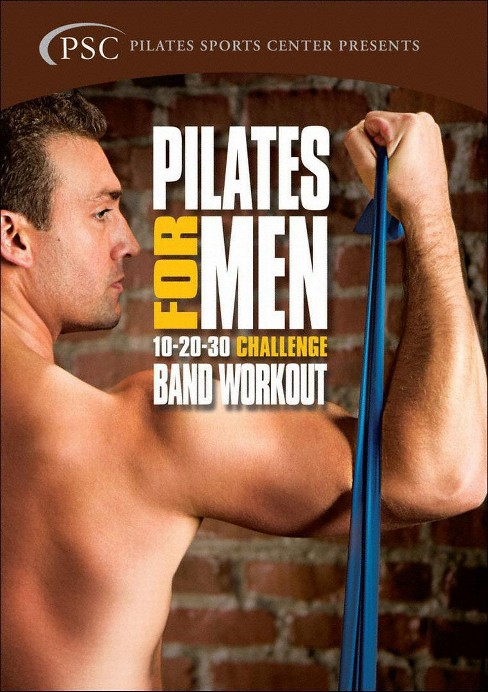 Pilates for men 2:Challenge band work (DVD) - image 1 of 1