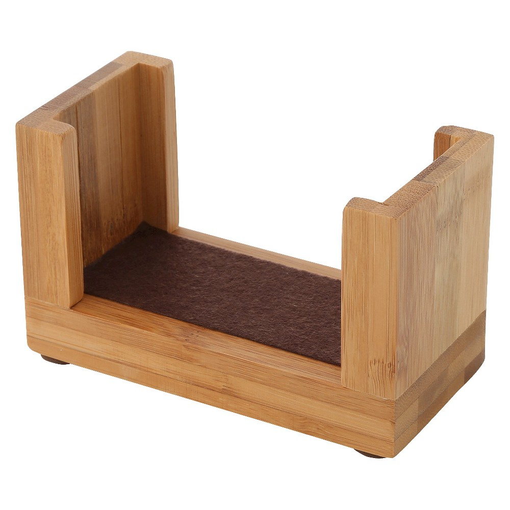 Image of Thirstystone Bamboo Upright Coaster Holder, Brown