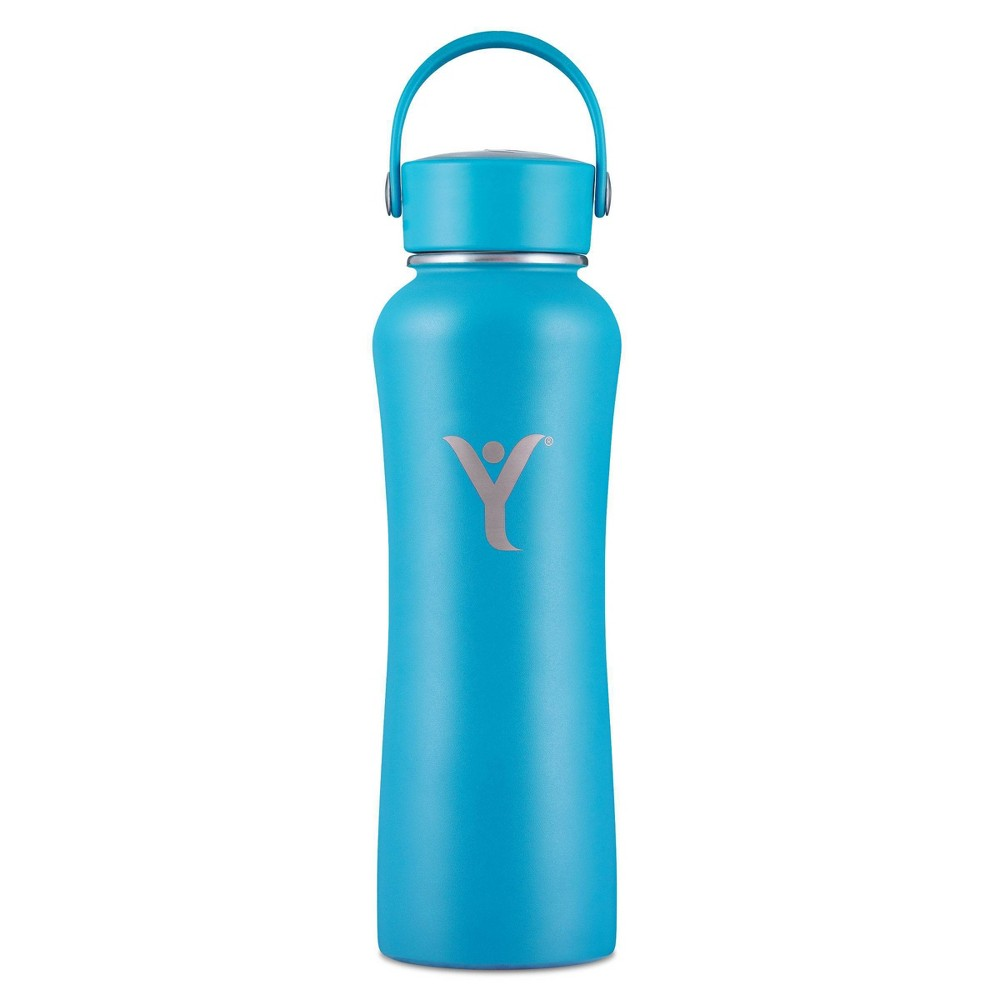 Dyln 21oz Alkaline Water Bottle With Diffuser Insulated Stainless Steel Dyln Blue