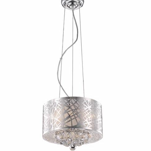 "Elegant Lighting 2078D12 Prism 12"" Wide 3 Light Full Sized Single Drum Pendant - image 1 of 1"