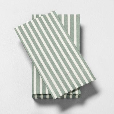 Guest Towel Napkin Green Stripe - Hearth & Hand™ with Magnolia