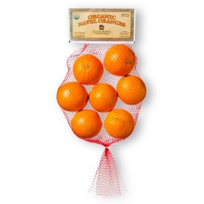 Organic Navel Oranges - 3lb Bag