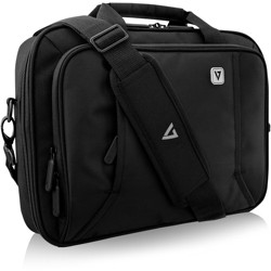 """V7 Professional CCP13-BLK-9N Carrying Case (Briefcase) for 13.3"""" ... - Black - Weather Resistant"""