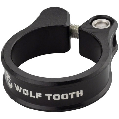 Wolf Tooth Seatpost Clamp 29.8mm Black w/ Self Aligning Bolt Stainless Hardware - image 1 of 1
