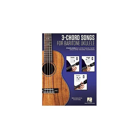 3 Chord Songs For Baritone Ukulele Melody Chords And Lyrics For