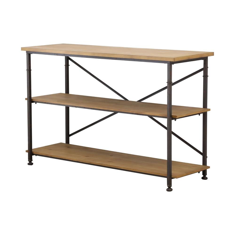 Dutch Industrial TV Stand - Natural - Abbyson Living, Wood