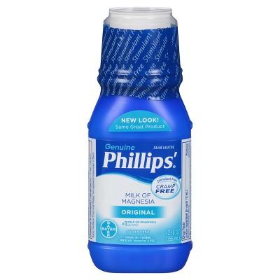 Phillips Milk of Magnesia Stimulant Free - Original - 12oz