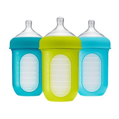 Boon NURSH 8oz 3pk Bottle - Blue