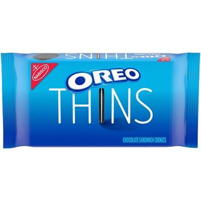 Oreo Thins Original Chocolate Sandwich Cookies - 10.1oz