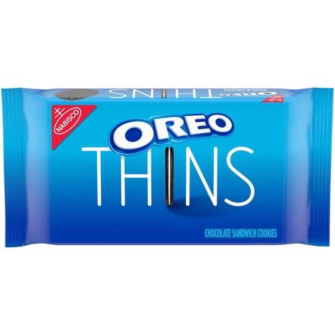 Oreo Thins Original Chocolate Sandwich Cookies - 10.1oz - image 1 of 4