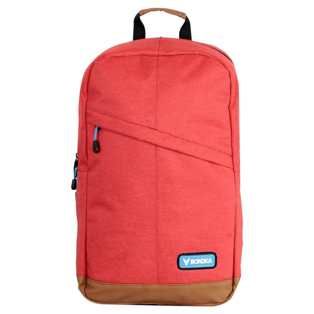 """Image of """"Bondka 18.5"""""""" Milan Backpack - Red"""""""