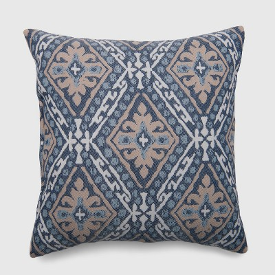 Square June Mosaic Outdoor Pillow Blue - Threshold™