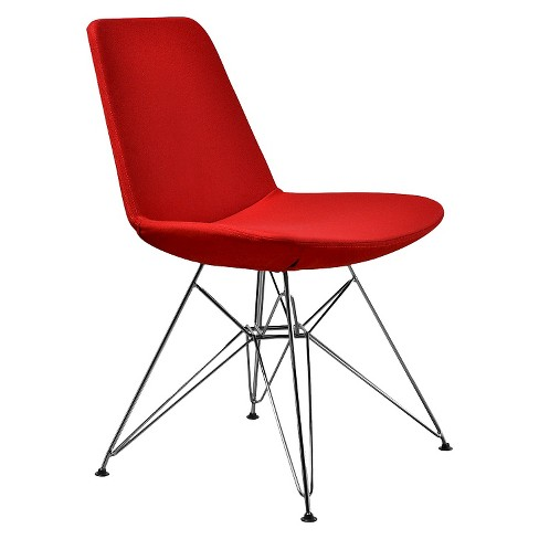 Paris Dining Chair Molded Foam/Red (Set of 2) - Aeon - image 1 of 1