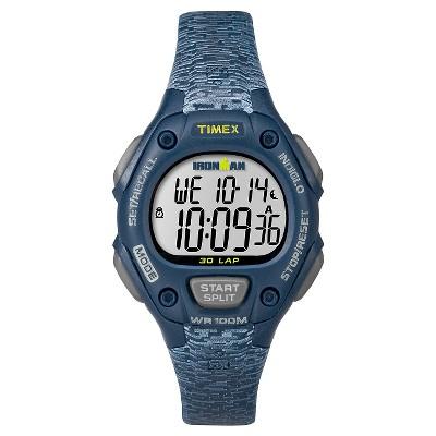Women's Timex Ironman Classic 30 Lap Digital Watch - Navy TW5M07400JT
