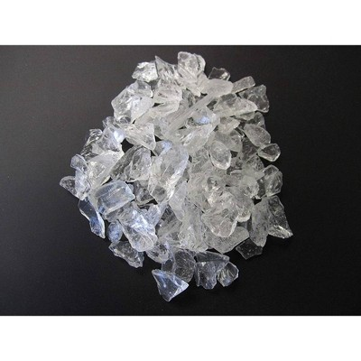 Recycled Fire Pit Fire Glass - Clear - AZ Patio Heaters