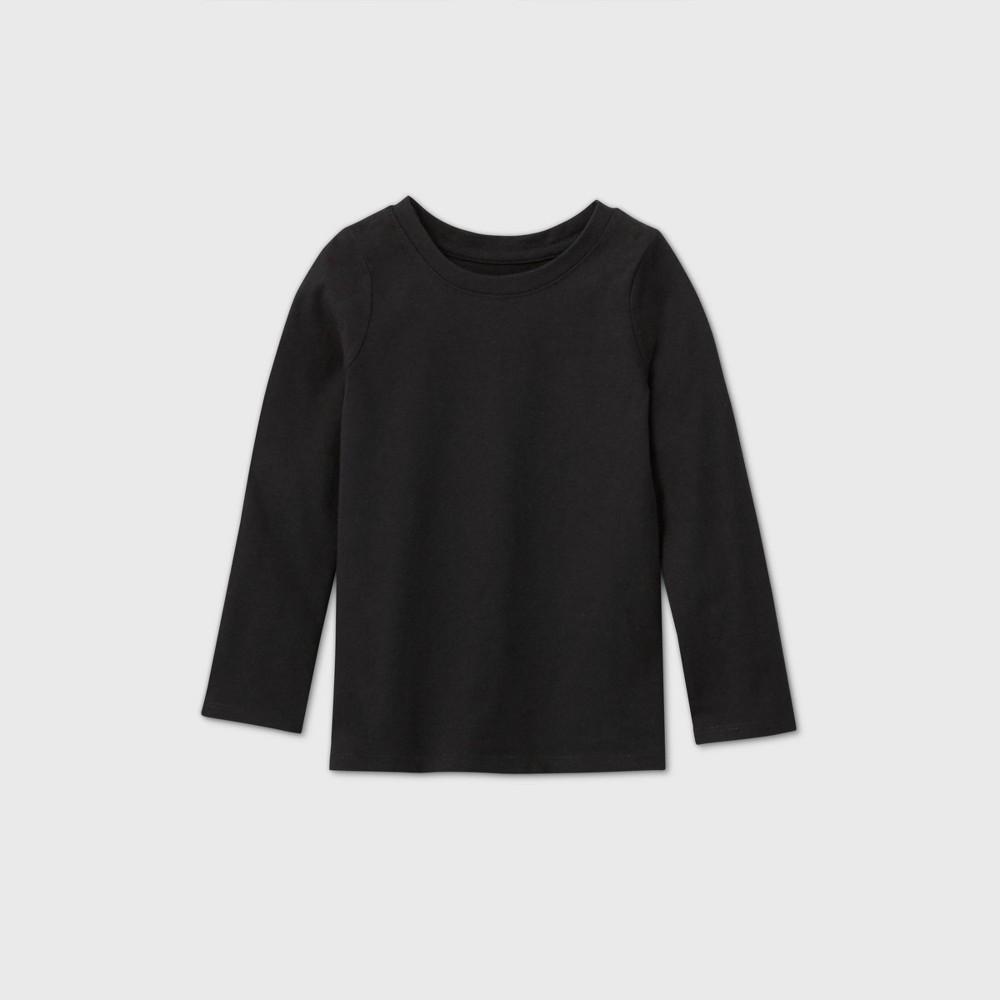 Promos Toddler Girls' Solid Long Sleeve T-Shirt - Cat & Jack™