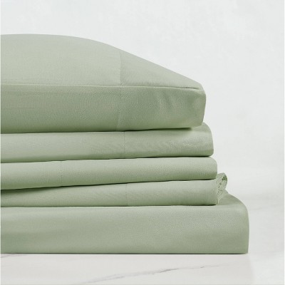 Everyday Microfiber Solid Sheet Set - Truly Soft