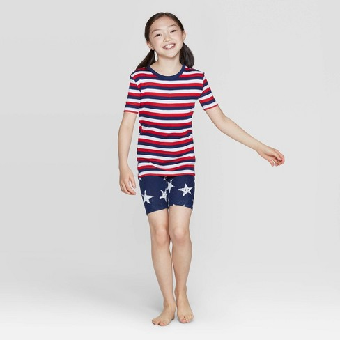 dc6aaec355 Kids Stars And Stripes Family Pajama Set - Red : Target