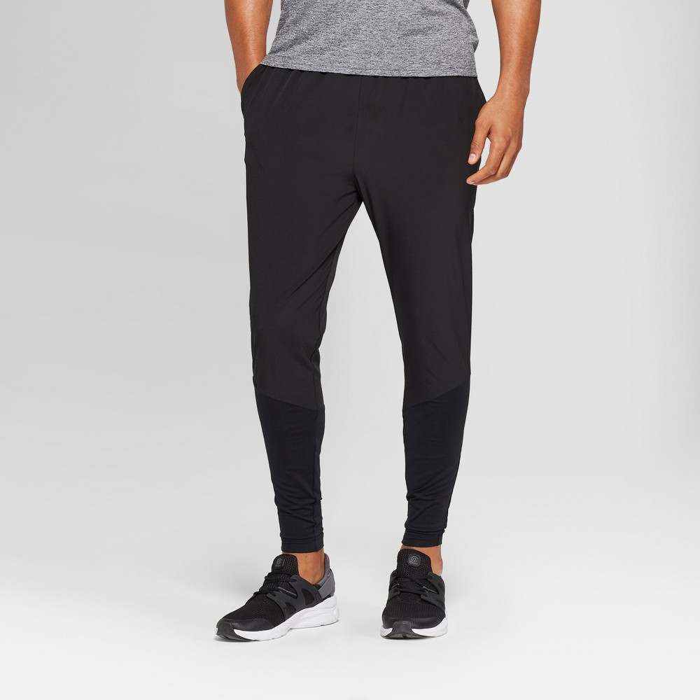 Men's Hybrid Running Tight Leggings - C9 Champion Black S