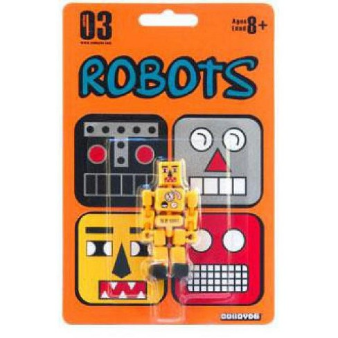 Stikfas Robots Cuboyds Series 03 Cuboyd ro-1235 Action Figure [Yellow] - image 1 of 1