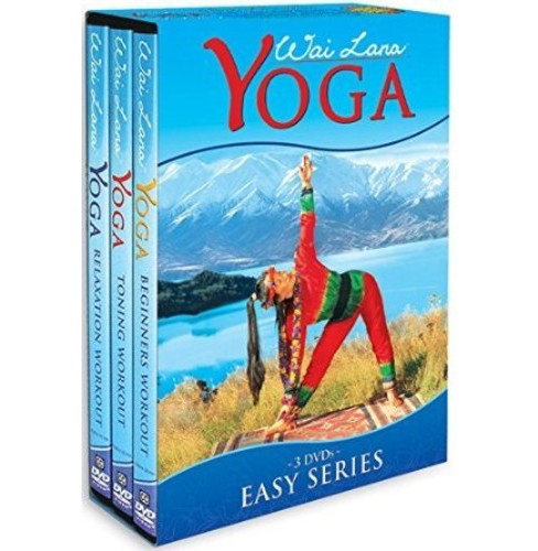 Wai Lana Yoga:Easy Series Tripack (DVD) - image 1 of 1