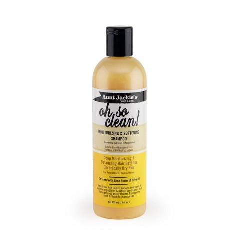 Aunt Jackie's Oh So Clean Moisturizing & Softening Shampoo - 12 fl oz - image 1 of 4
