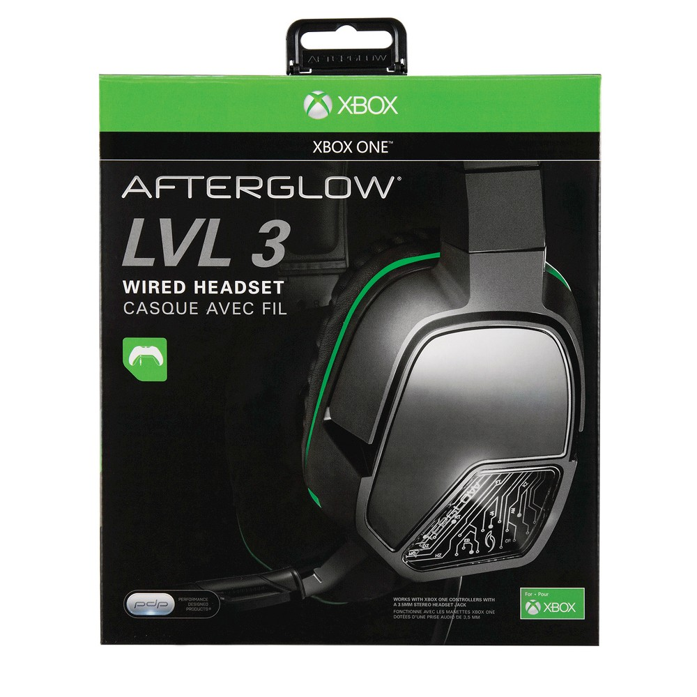 Image of Afterglow Corded Headset - Black Xbox One