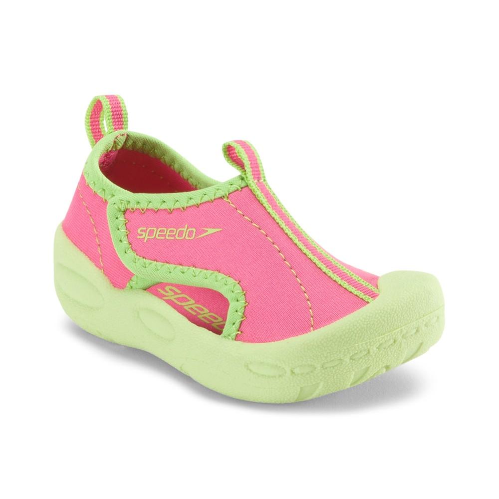 Speedo Toddler Girls' Hybrid Water Shoes - Pink (Large)