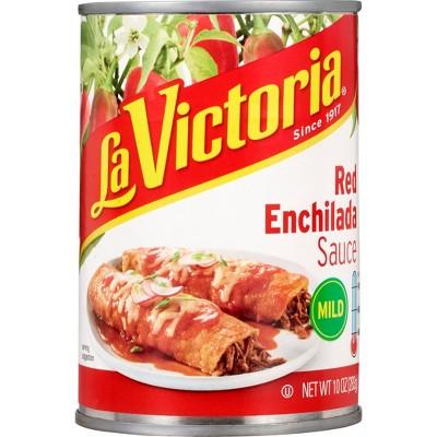 La Victoria Enchilada Sauce Mild Poco Picante 10oz